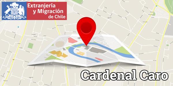 cardenal caro extranjeria