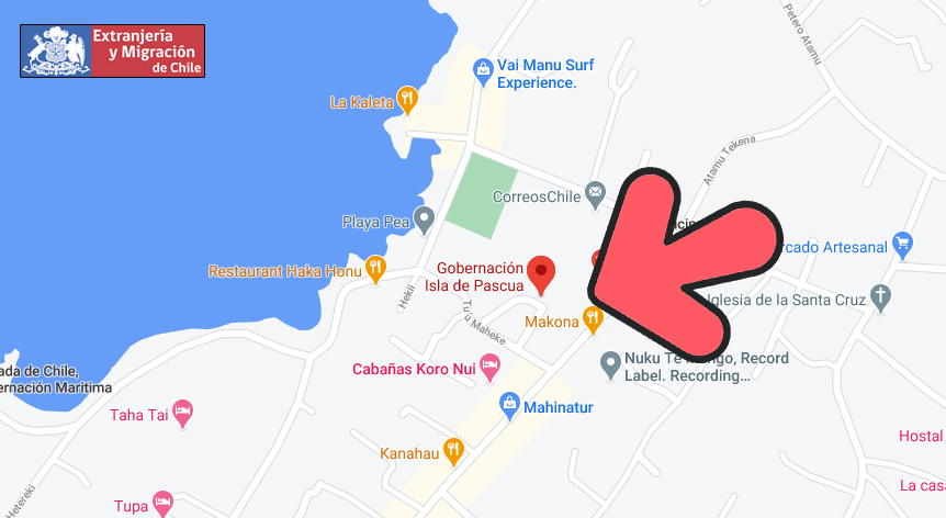 mapa isla pascua