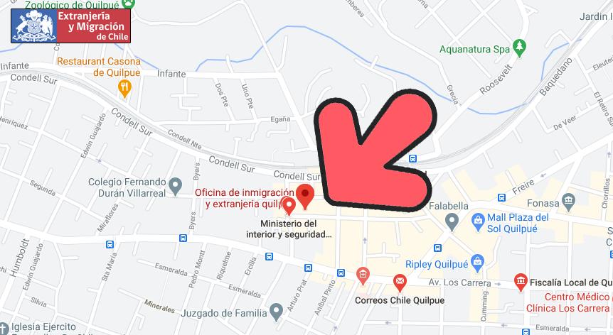 mapa marga marga